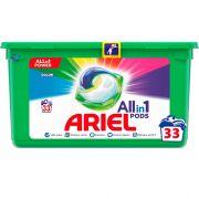 Капсулы универсальные с защитой цвета Ariel All in 1 Color 33 шт