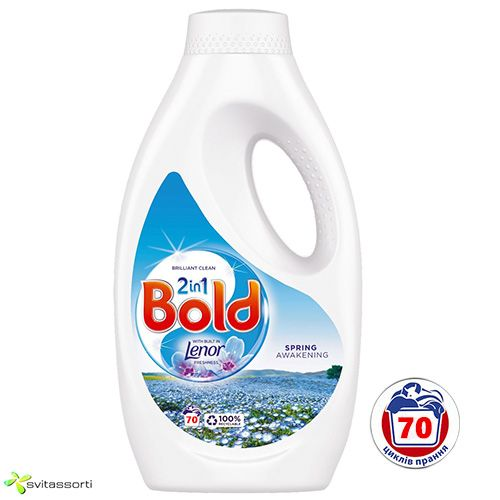 Гель для универсальной стирки Bold 2in1 Spring Awakening 70 стирок