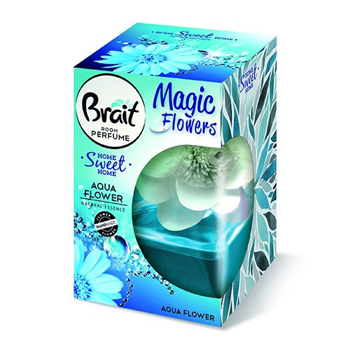 Декоративный освежитель воздуха Brait Водные цветы 75 мл