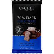 Шоколад экстрачерный Cachet Dark 70% 300 г