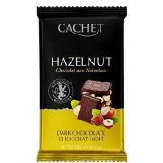 Шоколад черный  Cachet Фундук 50% 300 г