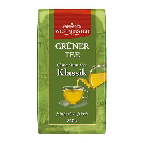 Чай зеленый заварной Westminster Grüner Tee China Chun Mee Klassik 250 г