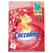 Освежитель воздуха в шкаф Coccolino Pink 3 шт