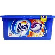 Капсулы с Lenor для универсальной стирки Dash Ambra 23 шт