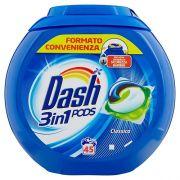 Капсулы для универсальной стирки Dash Classic  45 шт