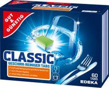 Таблетки для посудомоечных машин Edeka Classic 60 шт