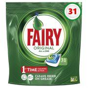 Капсулы для посудомоечной машины Fairy Original All in One 31 шт