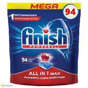 Таблетки для посудомоечной машины Finish All in One MAX 94 шт