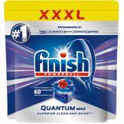 Капсулы для посудомоечных машин Finish Quantum Max 60шт