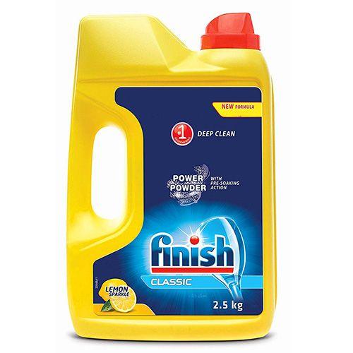 Порошок для посудомоечной машины Finish Classic Lemon 2,5 кг