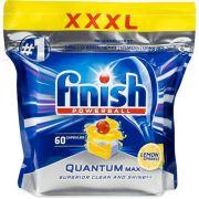 Капсулы для посудомоечных машин Finish Quantum Max Lemon 60 шт