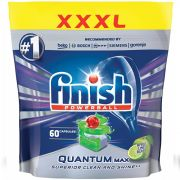 Капсулы для посудомоечных машин Finish Quantum Max Lime 60 шт