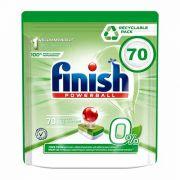 Таблетки для посудомойки Finish All in One Zero 70 шт