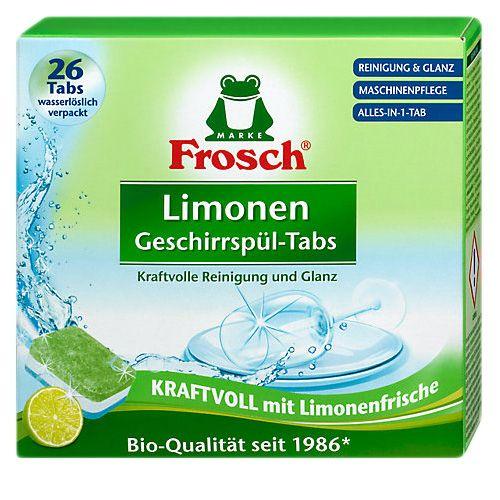 Бесфосфатные таблетки для пмм Frosch All in One Lemon 26 шт