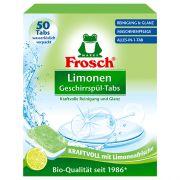 Бесфосфатные таблетки для пмм Frosch All in One Lemon 50 шт