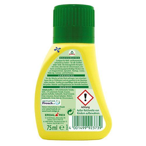Пятновыводитель с лимонным соком Frosch Citrus Flecken-Zwerg 75 мл
