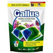 Капсулы для универсальной стирки GALLUS Universal 30 шт