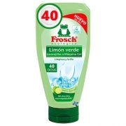 Бесфосфатный гель для посудомойки Frosch All in One Lime 40 циклов