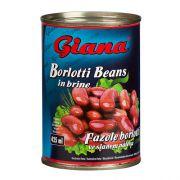 Фасоль борлотти в рассоле Giana Borlotti 425 ml