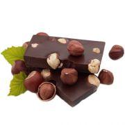 Лом черного шоколада с цельным фундуком Karina 400 г