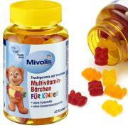 Мультивитаминный комплекс для детей Mivolis Bärchen 60 шт
