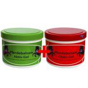 Комплект гелей для суставов охлаждающий и согревающий Pferdebalsam 500 мл