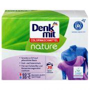Органический стиральный порошок для цветных тканей DenkMit Nature 20 стирок