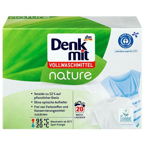 Органічний пральний порошок універсальний DenkMit Nature 20 прань