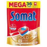 Таблетки для посудомоечной машины Somat Gold Lime 36 шт