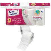 Туалетная бумага 4-х слойная Sanft & Sicher 16 рулонов
