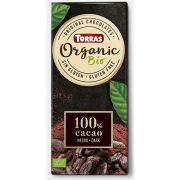 Шоколад экстрачерный Torras Organic 100% 100 г